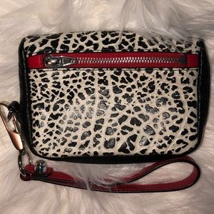 Alexander Wang Leather Wallet Wristlet Excel Cond